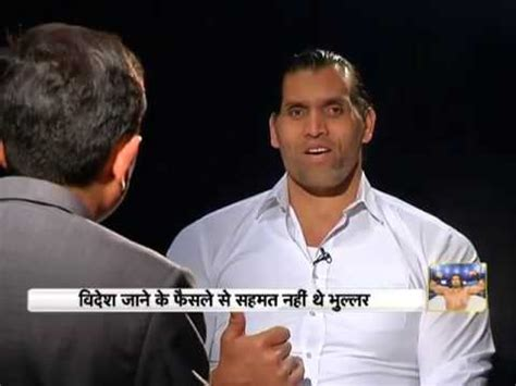 Watch the great Khali talk about his life - YouTube