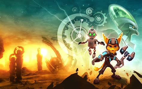 Ratchet & Clank Future A Crack in Time Game Wallpapers