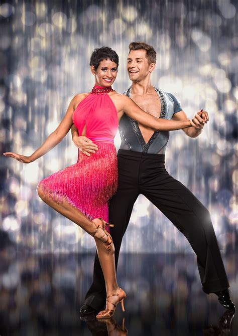 Naga Munchetty is third to get the boot off Strictly as