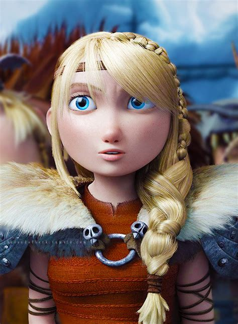 Astrid Hofferson ☀   We Heart It   astrid, hiccup, and how