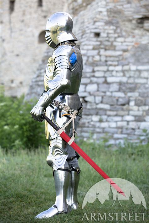 Medieval knight gothic plate armour full set for sale