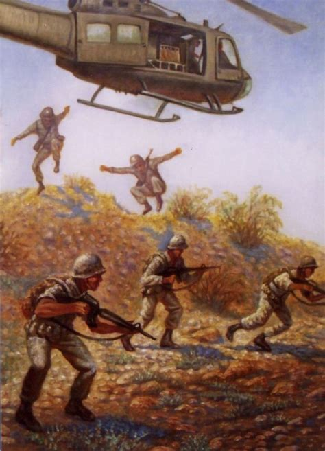 New art by Gregory Perillo honors unsung Vietnam War