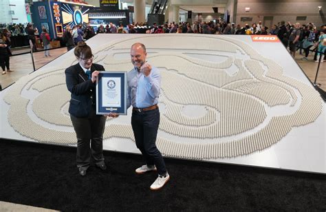 LEGO Group Breaks Guinness World Record Title For Largest