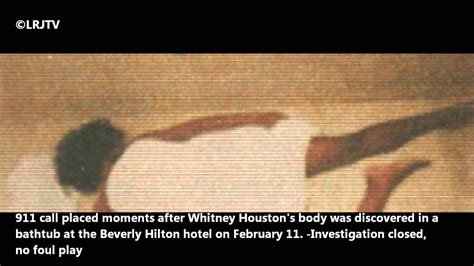 Official Whitney Houston 911 Call - YouTube