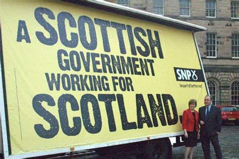 The Scottish National Party is now the third largest party