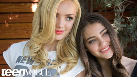 Best Friend Tag with Peyton List and BFF Kaylyn – Besties