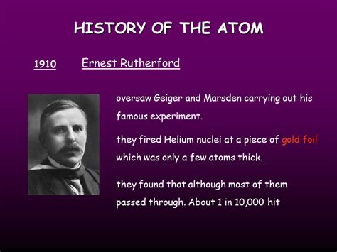 Atomic Structure, History of the Atom - Presentation