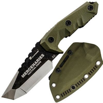 HX OUTDOORS fixed blade tactical survival knives with