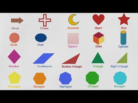 Matching shapes with shape names by baldwj - Teaching