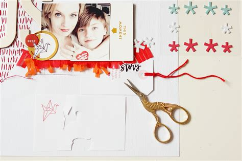 Blog: Tutorial: Using the Arendal Scrapbook Kit with
