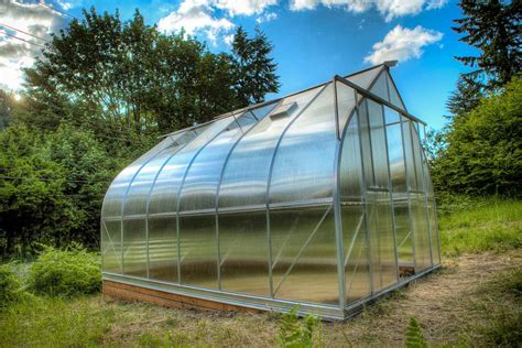 Climapod VIRTUE Greenhouse 9'x14' with 6-mm Polycarbonate