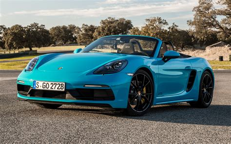 2017 Porsche 718 Boxster GTS - Wallpapers and HD Images