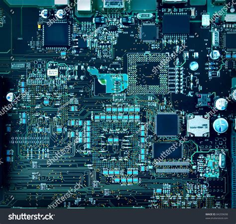 Inside Computer Hardware Motherboard Components Circuits
