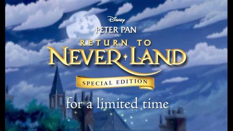 """""""Peter Pan II: Return to Never Land - Special Edition"""" Blu"""