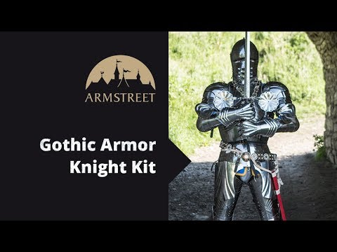 Medieval Knight Gothic Plate Armour Kit | Medieval knight