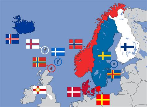 File:Nordic cross flags of Northern Europe