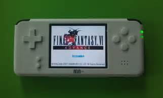 I just purchased a GBA clone handheld called the Revo K101
