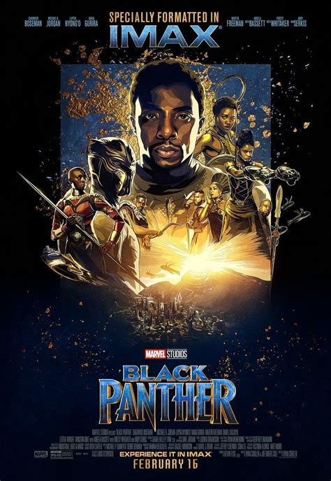 New 'Black Panther' IMAX Poster Released