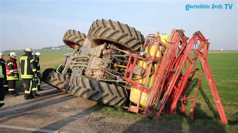 Terrible tractor accident in Germany