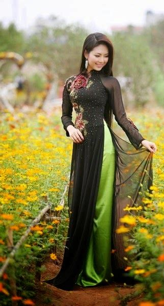 Vietnamese girls and long dresses - The most beautiful