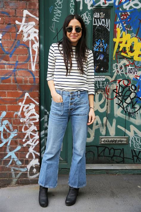 Spring Denim Trends: Cropped Flares Are the Must-Have