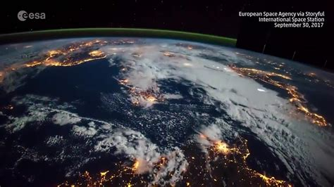 View of Thunderstorms from Space Station | The Weather Channel