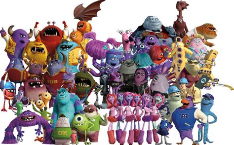 Image - Monsters inc characters by conthauberger-d83gotw