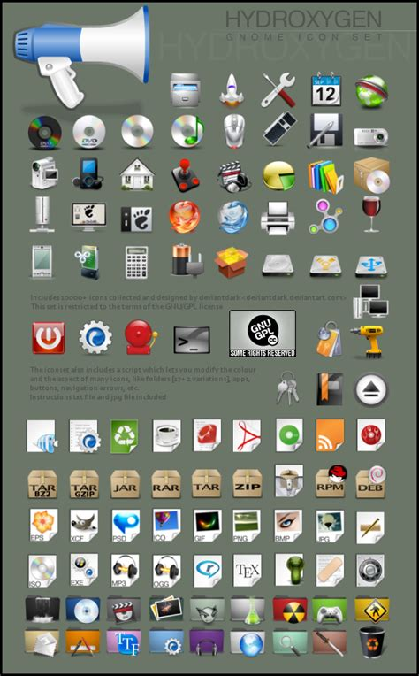 Nice collection of icon sets for your Linux Desktop with