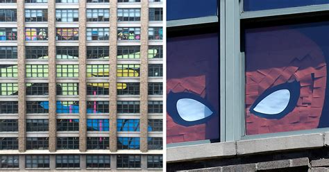 Sticky Notes War Between Two Office Buildings That Got Out