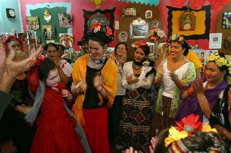 A Texas City, a Mob of Frida Kahlo Lookalikes, and the