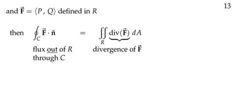 Session 70: Normal Form of Green's Theorem   Part C: Green