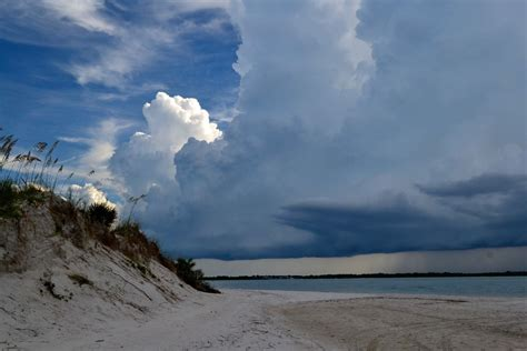 Ponce Inlet, Ponce Inlet, Florida - Afternoon summer