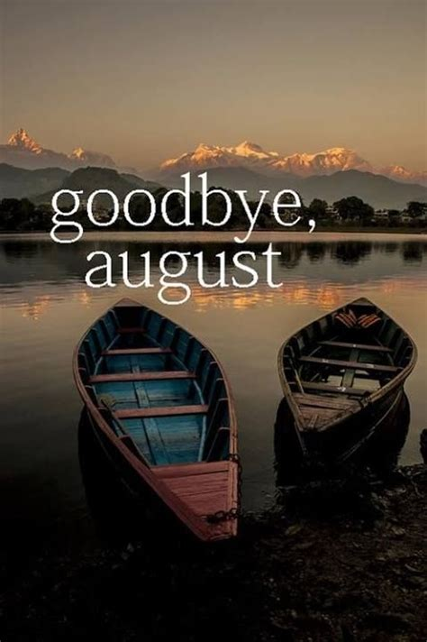 Goodbye August Hello September Pictures, Photos, and