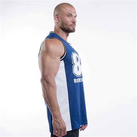 Better Bodies Tip-Off Tank Navy - Extreme Fitness AS