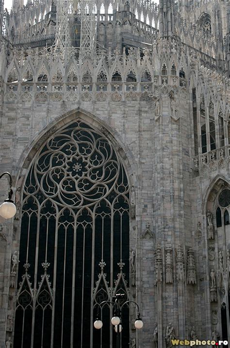 The Gothic cathedral of Milan, the result of 6 centuries