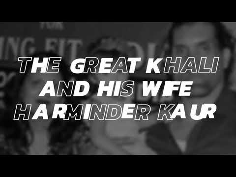 Khalis wife has reportedly warned Khali after the incident